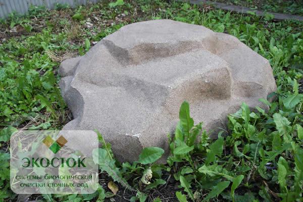Искусственные камни для декора крышки колодца своими руками